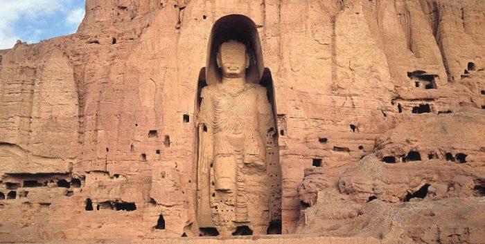 Buda destruído do Vale de Bamiyan